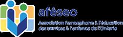 Logo de l'association francophone à l'éducation des services à l'enfance de l'Ontario