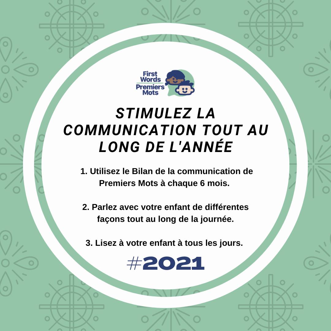 Résolutions de lecture 2021