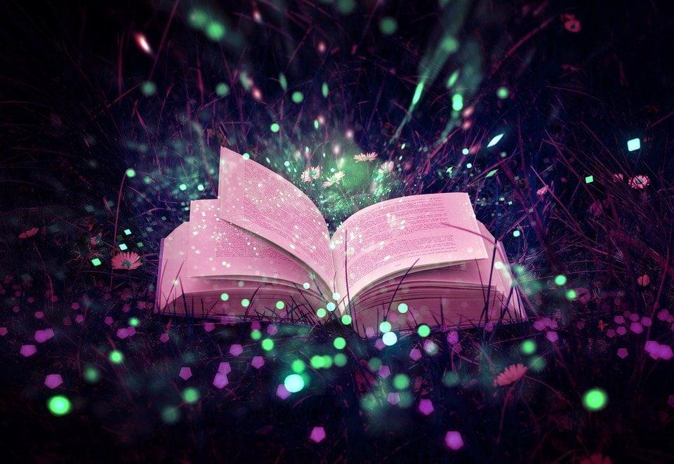 Une belle image de livre ouvert